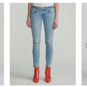 "Rage and bone size 27 ""Dre"" jeans"